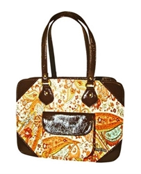 PuchiBag Maya Bag - Orange Swirl