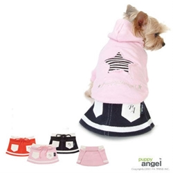 Puppy Angel Training Mini Skirt wooflink, susan lanci, dog clothes, small dog clothes, urban pup, pooch outfitters, dogo, hip doggie, doggie design, small dog dress, pet clotes, dog boutique. pet boutique, bloomingtails dog boutique, dog raincoat, dog rain coat, pet raincoat, dog shampoo, pet shampoo, dog bathrobe, pet bathrobe, dog carrier, small dog carrier, doggie couture, pet couture, dog football, dog toys, pet toys, dog clothes sale, pet clothes sale, shop local, pet store, dog store, dog chews, pet chews, worthy dog, dog bandana, pet bandana, dog halloween, pet halloween, dog holiday, pet holiday, dog teepee, custom dog clothes, pet pjs, dog pjs, pet pajamas, dog pajamas,dog sweater, pet sweater, dog hat, fabdog, fab dog, dog puffer coat, dog winter jacket, dog col