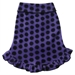 Purple Dot Dog Pullover  - iss-purple pulloverL-M7K