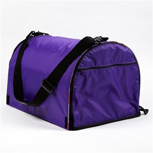 Purple Puppy Shell Carrier