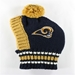 Rams Knit Hat  - hip-ramshat