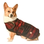 Red/Black Plaid  Blanket Coat    dog bowls,susan lanci, puppia,wooflink, luxury dog boutique,tonimari,pet clothes, dog clothes, puppy clothes, pet store, dog store, puppy boutique store, dog boutique, pet boutique, puppy boutique, Bloomingtails, dog, small dog clothes, large dog clothes, large dog costumes, small dog costumes, pet stuff, Halloween dog, puppy Halloween, pet Halloween, clothes, dog puppy Halloween, dog sale, pet sale, puppy sale, pet dog tank, pet tank, pet shirt, dog shirt, puppy shirt,puppy tank, I see spot, dog collars, dog leads, pet collar, pet lead,puppy collar, puppy lead, dog toys, pet toys, puppy toy, dog beds, pet beds, puppy bed,  beds,dog mat, pet mat, puppy mat, fab dog pet sweater, dog sweater, dog winter, pet winter,dog raincoat, pet raincoat