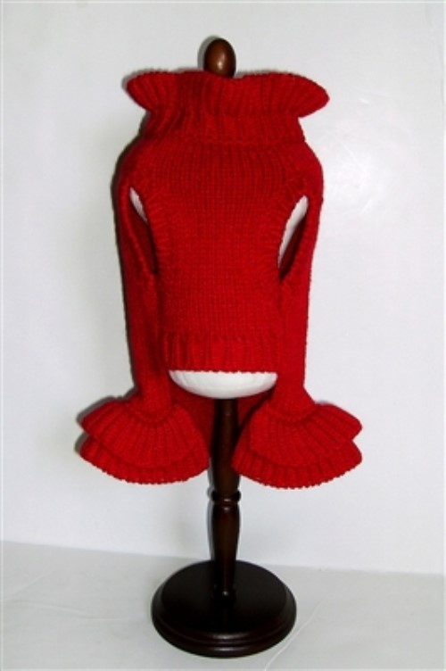 Red Holiday Sweater Dress - dal-holiday