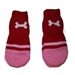 Red & Pink  Dog Bone Socks - HGL-redboneS-B7F