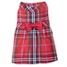Red Plaid Dog Dress  - wd-red-dress