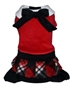 Red Plaid Skirted  Jumper dog bowls,susan lanci, puppia,wooflink, luxury dog boutique,tonimari,pet clothes, dog clothes, puppy clothes, pet store, dog store, puppy boutique store, dog boutique, pet boutique, puppy boutique, Bloomingtails, dog, small dog clothes, large dog clothes, large dog costumes, small dog costumes, pet stuff, Halloween dog, puppy Halloween, pet Halloween, clothes, dog puppy Halloween, dog sale, pet sale, puppy sale, pet dog tank, pet tank, pet shirt, dog shirt, puppy shirt,puppy tank, I see spot, dog collars, dog leads, pet collar, pet lead,puppy collar, puppy lead, dog toys, pet toys, puppy toy, dog beds, pet beds, puppy bed,  beds,dog mat, pet mat, puppy mat, fab dog pet sweater, dog sweater, dog winter, pet winter,dog raincoat, pet raincoat,
