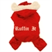 Red Ruffin It Dog Snowsuit   - dogdes-ruffin-red