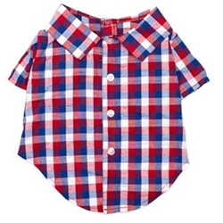Red/White/Blue Check Shirt kosher, hanukkah, toy, jewish, toy, puppy bed,  beds,dog mat, pet mat, puppy mat, fab dog pet sweater, dog swepet clothes, dog clothes, puppy clothes, pet store, dog store, puppy boutique store, dog boutique, pet boutique, puppy boutique, Bloomingtails, dog, small dog clothes, large dog clothes, large dog costumes, small dog costumes, pet stuff, Halloween dog, puppy Halloween, pet Halloween, clothes, dog puppy Halloween, dog sale, pet sale, puppy sale, pet dog tank, pet tank, pet shirt, dog shirt, puppy shirt,puppy tank, I see spot, dog collars, dog leads, pet collar, pet lead,puppy collar, puppy lead, dog toys, pet toys, puppy toy, dog beds, pet beds, puppy bed,  beds,dog mat, pet mat, puppy mat, fab dog pet sweater, dog sweater, dog winte