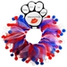 Red, White & Blue Festive Collar - mir-redwhiteblueX-JW3