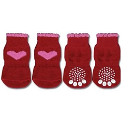 Red with Pink Hearts  Dog Socks  pet clothes, dog clothes, puppy clothes, pet store, dog store, puppy boutique store, dog boutique, pet boutique, puppy boutique, Bloomingtails, dog, small dog clothes, large dog clothes, large dog costumes, small dog costumes, pet stuff, Halloween dog, puppy Halloween, pet Halloween, clothes, dog puppy Halloween, dog sale, pet sale, puppy sale, pet dog tank, pet tank, pet shirt, dog shirt, puppy shirt,puppy tank, I see spot, dog collars, dog leads, pet collar, pet lead,puppy collar, puppy lead, dog toys, pet toys, puppy toy, dog beds, pet beds, puppy bed,  beds,dog mat, pet mat, puppy mat, fab dog pet sweater, dog sweater, dog winter, pet winter,dog raincoat, pet raincoat, dog harness, puppy harness, pet harness, dog collar, dog lead, pet l