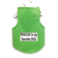 Rescue is My Favorite Dog Dog Dress or Tank in Many Colors   wooflink, susan lanci, dog clothes, small dog clothes, urban pup, pooch outfitters, dogo, hip doggie, doggie design, small dog dress, pet clotes, dog boutique. pet boutique, bloomingtails dog boutique, dog raincoat, dog rain coat, pet raincoat, dog shampoo, pet shampoo, dog bathrobe, pet bathrobe, dog carrier, small dog carrier, doggie couture, pet couture, dog football, dog toys, pet toys, dog clothes sale, pet clothes sale, shop local, pet store, dog store, dog chews, pet chews, worthy dog, dog bandana, pet bandana, dog halloween, pet halloween, dog holiday, pet holiday, dog teepee, custom dog clothes, pet pjs, dog pjs, pet pajamas, dog pajamas,dog sweater, pet sweater, dog hat, fabdog, fab dog, dog puffer coat, dog winter jacket, dog col
