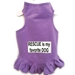 Rescue is My Favorite Dog Dog Dress or Tank in Many Colors   - daisyrescue