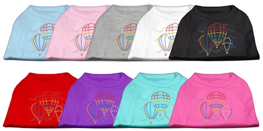 Rhinestone Hot Air Balloon Shirt -More Colors - Mir-balloons