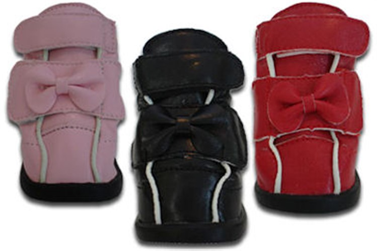 Ribbon Bow Dog Boots