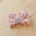 Rose Dog Bow by Wooflink - wflink-rosebow