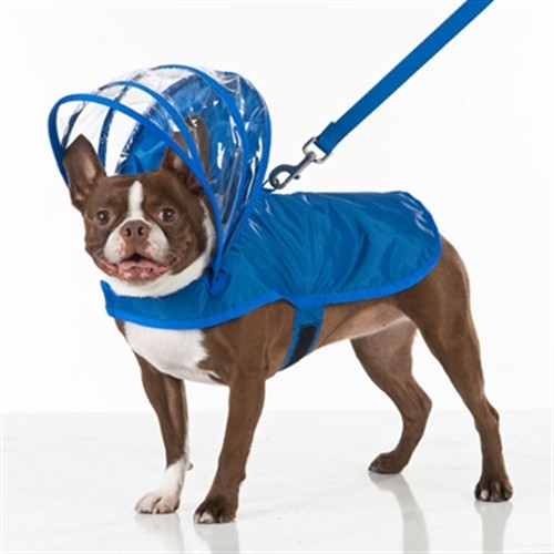 Royal Blue Dog Raincoats - push-royal-coat