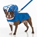 Royal Blue Dog Raincoats - push-royal-coatT-G34