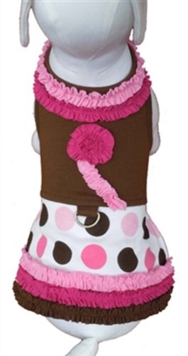 Ruffles & Polka Dots Harness Dress - ccc-rufflesX-6VV