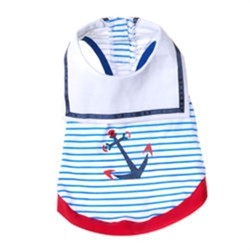 Sailor Tank Top for Toy Breed Dogs