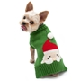 Santa Face Sweater  Roxy & Lulu, wooflink, susan lanci, dog clothes, small dog clothes, urban pup, pooch outfitters, dogo, hip doggie, doggie design, small dog dress, pet clotes, dog boutique. pet boutique, bloomingtails dog boutique, dog raincoat, dog rain coat, pet raincoat, dog shampoo, pet shampoo, dog bathrobe, pet bathrobe, dog carrier, small dog carrier, doggie couture, pet couture, dog football, dog toys, pet toys, dog clothes sale, pet clothes sale, shop local, pet store, dog store, dog chews, pet chews, worthy dog, dog bandana, pet bandana, dog halloween, pet halloween, dog holiday, pet holiday, dog teepee, custom dog clothes, pet pjs, dog pjs, pet pajamas, dog pajamas,dog sweater, pet sweater, dog hat, fabdog, fab dog, dog puffer coat, dog winter ja