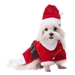 Santa Paws Dog Coat - PO-santa-coat