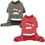 Santa Stache  Dog Pajamas  wooflink, susan lanci, dog clothes, small dog clothes, urban pup, pooch outfitters, dogo, hip doggie, doggie design, small dog dress, pet clotes, dog boutique. pet boutique, bloomingtails dog boutique, dog raincoat, dog rain coat, pet raincoat, dog shampoo, pet shampoo, dog bathrobe, pet bathrobe, dog carrier, small dog carrier, doggie couture, pet couture, dog football, dog toys, pet toys, dog clothes sale, pet clothes sale, shop local, pet store, dog store, dog chews, pet chews, worthy dog, dog bandana, pet bandana, dog halloween, pet halloween, dog holiday, pet holiday, dog teepee, custom dog clothes, pet pjs, dog pjs, pet pajamas, dog pajamas,dog sweater, pet sweater, dog hat, fabdog, fab dog, dog puffer coat, dog winter jacket, dog col