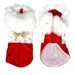 Santa Xmas Eve Dog Dress - acchs-xmaseve-dressX-WHG