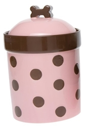 Sassy Girl Treat Jar Our stoneware dog treat jars are designed to look great and function even better.