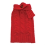Scarf  Cable Knit Sweater in Red   puppy bed,  beds,dog mat, pet mat, puppy mat, fab dog pet sweater, dog swepet clothes, dog clothes, puppy clothes, pet store, dog store, puppy boutique store, dog boutique, pet boutique, puppy boutique, Bloomingtails, dog, small dog clothes, large dog clothes, large dog costumes, small dog costumes, pet stuff, Halloween dog, puppy Halloween, pet Halloween, clothes, dog puppy Halloween, dog sale, pet sale, puppy sale, pet dog tank, pet tank, pet shirt, dog shirt, puppy shirt,puppy tank, I see spot, dog collars, dog leads, pet collar, pet lead,puppy collar, puppy lead, dog toys, pet toys, puppy toy, dog beds, pet beds, puppy bed,  beds,dog mat, pet mat, puppy mat, fab dog pet sweater, dog sweater, dog winter, pet winter,dog raincoat, pet rai