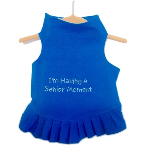 Senior Moment Flounce Dress