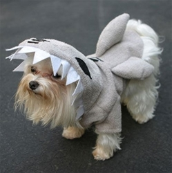 Shark Fins Pajama Pals Dog Costume