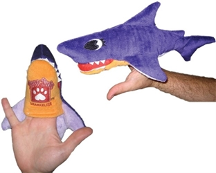 Sharkelise Shark Interactive Puppet Dog Toy