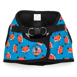 Sidekick Printed Foxy Dog Harness   pet clothes, dog clothes, puppy clothes, pet store, dog store, puppy boutique store, dog boutique, pet boutique, puppy boutique, Bloomingtails, dog, small dog clothes, large dog clothes, large dog costumes, small dog costumes, pet stuff, Halloween dog, puppy Halloween, pet Halloween, clothes, dog puppy Halloween, dog sale, pet sale, puppy sale, pet dog tank, pet tank, pet shirt, dog shirt, puppy shirt,puppy tank, I see spot, dog collars, dog leads, pet collar, pet lead,puppy collar, puppy lead, dog toys, pet toys, puppy toy, dog beds, pet beds, puppy bed,  beds,dog mat, pet mat, puppy mat, fab dog pet sweater, dog sweater, dog winter, pet winter,dog raincoat, pet raincoat, dog harness, puppy harness, pet harness, dog collar, dog lead, pet l
