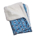 Silly Sharks Fleece Blanket   - kl-blanketsharks