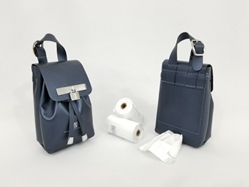 Silver Collection-Navy-Ultimate Poop Bag Dispenser    susan lanci, puppia,wooflink, luxury dog boutique,tonimari,pet clothes, dog clothes, puppy clothes, pet store, dog store, puppy boutique store, dog boutique, pet boutique, puppy boutique, Bloomingtails, dog, small dog clothes, large dog clothes, large dog costumes, small dog costumes, pet stuff, Halloween dog, puppy Halloween, pet Halloween, clothes, dog puppy Halloween, dog sale, pet sale, puppy sale, pet dog tank, pet tank, pet shirt, dog shirt, puppy shirt,puppy tank, I see spot, dog collars, dog leads, pet collar, pet lead,puppy collar, puppy lead, dog toys, pet toys, puppy toy, dog beds, pet beds, puppy bed,  beds,dog mat, pet mat, puppy mat, fab dog pet sweater, dog sweater, dog winter, pet winter,dog raincoat, pet raincoat, dog harn