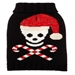 Skull & Candy Cane Dog Christmas Trendy Sweater - fab-skull-candycane8-LNW