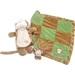 Sleep Over Monkey Dog  Blanket & Toy Set - on-monkey