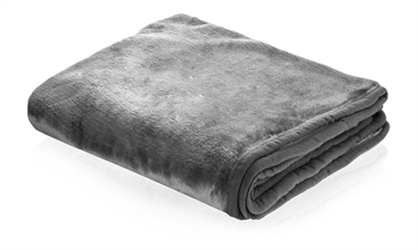 Snuggle Puppy Dog Blanket in Gray