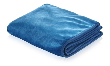 Snuggle Puppy Dog Blanket in Rich Blue