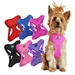 Solid Color Mesh Wrap and Snap Choke Free Harness - dogdes-solid-harness