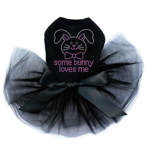 Some Bunny Loves Me Tutu Dress in 3 Colors - dic-somebunny