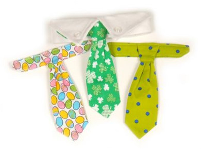 Spring  Dog Neck Tie Set