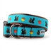 Squirrelly Dog Collar & Lead   - wd-squirrelly-collar