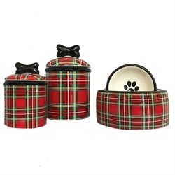 Stewart Plaid Cermanic Dog Bowls & Treat Jars  kosher, hanukkah, toy, jewish, toy, puppy bed,  beds,dog mat, pet mat, puppy mat, fab dog pet sweater, dog swepet clothes, dog clothes, puppy clothes, pet store, dog store, puppy boutique store, dog boutique, pet boutique, puppy boutique, Bloomingtails, dog, small dog clothes, large dog clothes, large dog costumes, small dog costumes, pet stuff, Halloween dog, puppy Halloween, pet Halloween, clothes, dog puppy Halloween, dog sale, pet sale, puppy sale, pet dog tank, pet tank, pet shirt, dog shirt, puppy shirt,puppy tank, I see spot, dog collars, dog leads, pet collar, pet lead,puppy collar, puppy lead, dog toys, pet toys, puppy toy, dog beds, pet beds, puppy bed,  beds,dog mat, pet mat, puppy mat, fab dog pet sweater, dog sweater, dog winte