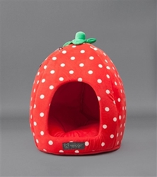 Strawberry Pet Bed   dog bowls,susan lanci, puppia,wooflink, luxury dog boutique,tonimari,pet clothes, dog clothes, puppy clothes, pet store, dog store, puppy boutique store, dog boutique, pet boutique, puppy boutique, Bloomingtails, dog, small dog clothes, large dog clothes, large dog costumes, small dog costumes, pet stuff, Halloween dog, puppy Halloween, pet Halloween, clothes, dog puppy Halloween, dog sale, pet sale, puppy sale, pet dog tank, pet tank, pet shirt, dog shirt, puppy shirt,puppy tank, I see spot, dog collars, dog leads, pet collar, pet lead,puppy collar, puppy lead, dog toys, pet toys, puppy toy, dog beds, pet beds, puppy bed,  beds,dog mat, pet mat, puppy mat, fab dog pet sweater, dog sweater, dog winter, pet winter,dog raincoat, pet raincoat