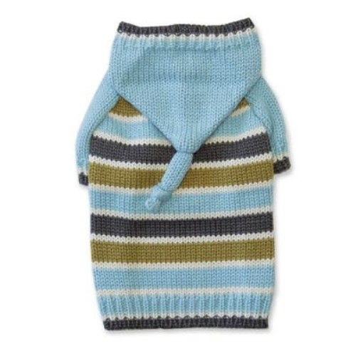 Striped Hoodie Sweater in Pink or Blue - dgo-stripehood