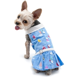 Summer Beach Dress  wooflink, susan lanci, dog clothes, small dog clothes, urban pup, pooch outfitters, dogo, hip doggie, doggie design, small dog dress, pet clotes, dog boutique. pet boutique, bloomingtails dog boutique, dog raincoat, dog rain coat, pet raincoat, dog shampoo, pet shampoo, dog bathrobe, pet bathrobe, dog carrier, small dog carrier, doggie couture, pet couture, dog football, dog toys, pet toys, dog clothes sale, pet clothes sale, shop local, pet store, dog store, dog chews, pet chews, worthy dog, dog bandana, pet bandana, dog halloween, pet halloween, dog holiday, pet holiday, dog teepee, custom dog clothes, pet pjs, dog pjs, pet pajamas, dog pajamas,dog sweater, pet sweater, dog hat, fabdog, fab dog, dog puffer coat, dog winter jacket, dog col