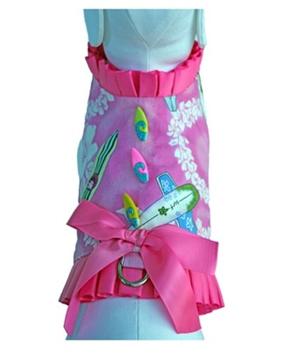 Surfer Girl Harness & Leash Set - ccc-surferX-4EP