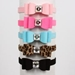 Susan Lanci 5/8 Inch Really Big Bow Dog Collar in Many Colors - suslan-big58