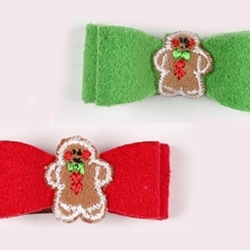 Susan Lanci Gingerbread Hair Bows